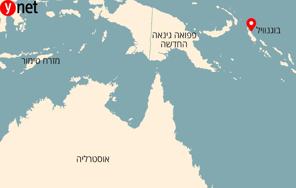 מפה בוגנוויל בוגנביל איים משאל עם עצמאות מדינה חדשה ()