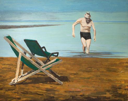 ציור של גרשטיין משנות ה-70 (צילום: באדיבות דוד גרשטיין)