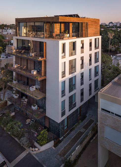 כאן האדריכל הוא גם היזם והדייר. לחצו לכתבה המלאה (צילום: ליאור גרונדמן)