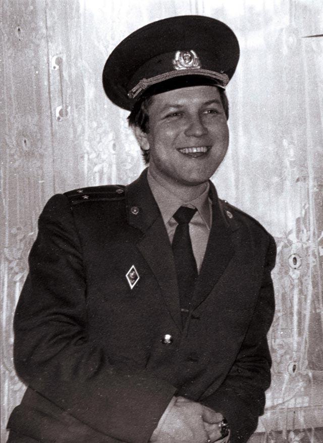 Воли Агам советский милиционер. Фото: семейный архив