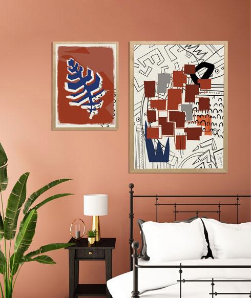 סדרת TRIBE מאת האמנית מירב לרך, גם בהנחה מיוחדת. להשיג בגלריית 1of135 ובאתר  (אמנית: מירב לרך)