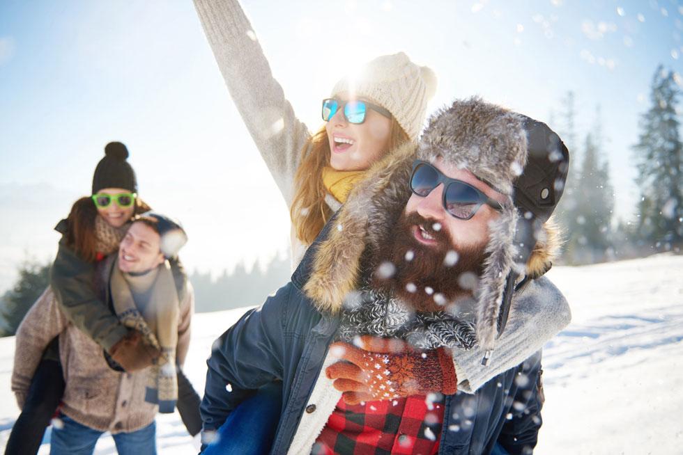 אתרי סקי יכולים להיות לוקיישנים נהדרים לבילוי חורף, גם אם אין לכם כוונה לגלוש  (צילום: Shutterstock)