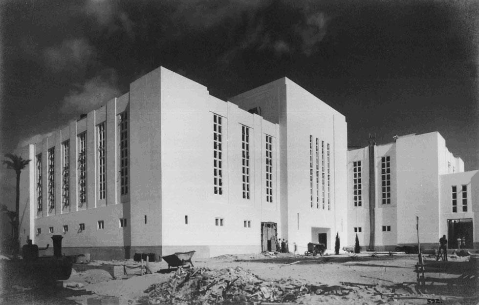 ''המתחם היה ראוי להופיע בספרות העולמית של האדריכלות'', סבורה האדריכלית פארה גולדמן, שערכה תיעוד ותוכנית שימור למתחם הגדול (צילום: חברת החשמל, cc)