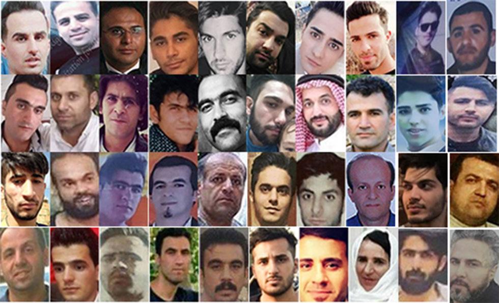 איראן מהומות תמונות הרוגים לדברי מתנגדי המשטר ()