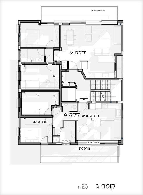 הקומה השלישית (תוכנית: לבב שחר)