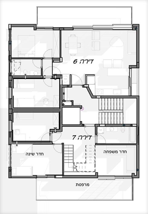 הקומה הרביעית (תוכנית: לבב שחר)