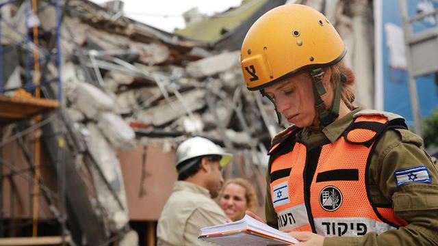מקסיקו סיטי רעידת אדמה כוחות חילוץ ישראליים יחצ