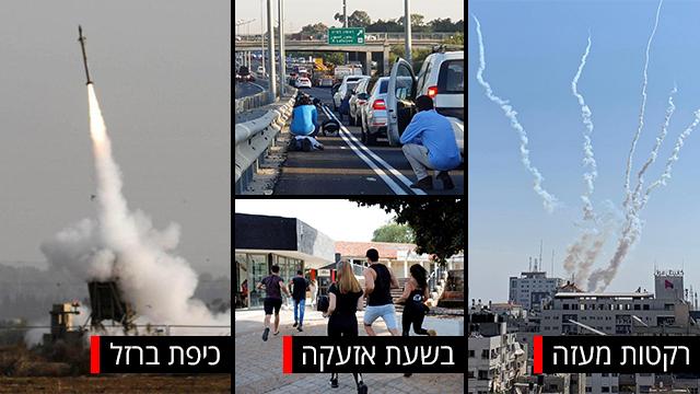 המצב הלקוי של העורף בישראל (צילום: