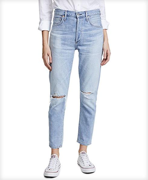 מה לקנות בשופ בופ? מכנסי ג'ינס עם קרעים של המותג סיטיזנס אוף יומניטי, 761 שקל במקום 896.45 שקל (צילום: מתוך shopbop.com)