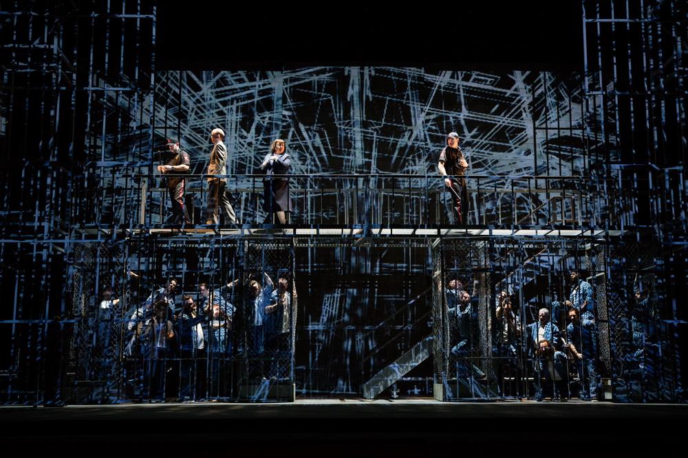 """Опера """"Мертвец идет"""". Фото: пресс-служба Израильской оперы"""