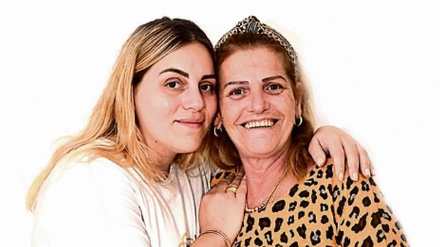 Карин и ее мама Хана Самборски. Фото: Хаим Горенштейн