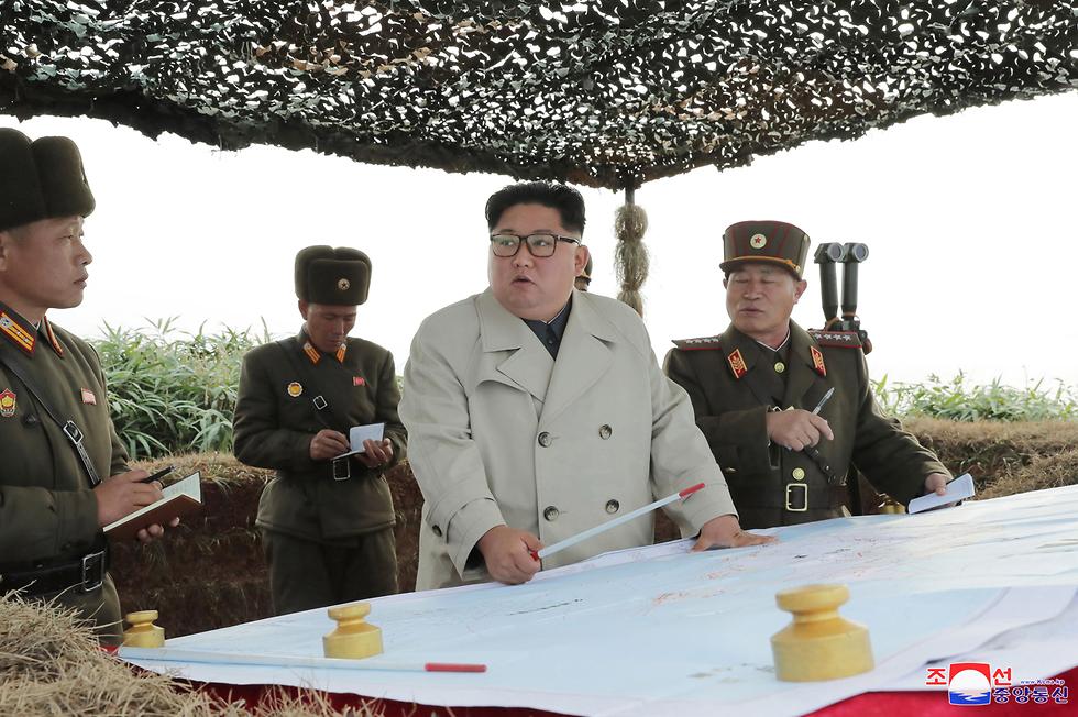 קים ג'ונג און שליט צפון קוריאה (צילום: EPA)