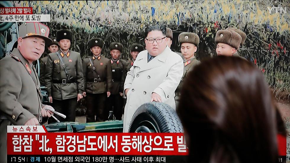 קים ג'ונג און שליט צפון קוריאה (צילום: AP)