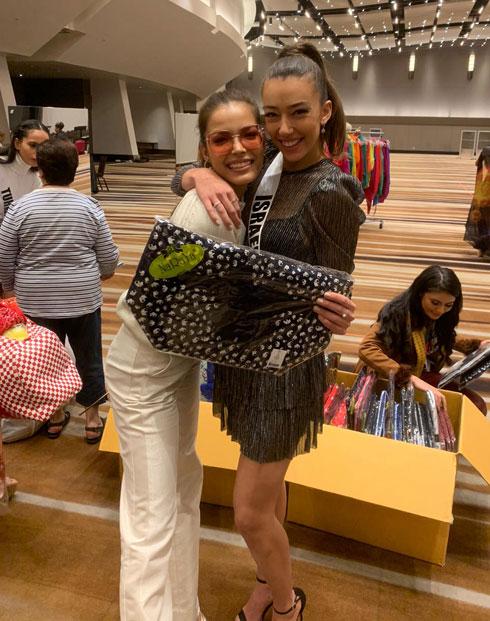 שתי קנדיות לשעבר נפגשות באטלנטה. עם מיס תאילנד  (צילום: אלבום פרטי )