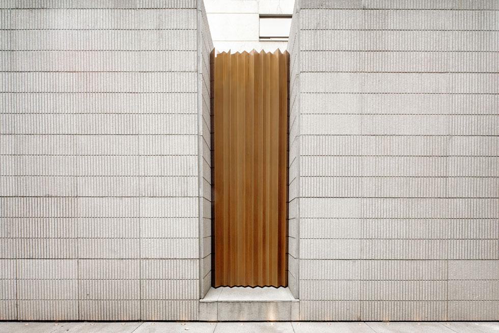 תקריב של אחת החזיתות (צילום: Yoshihiro Koitani + Aby Helfon y Ramón Helfon)