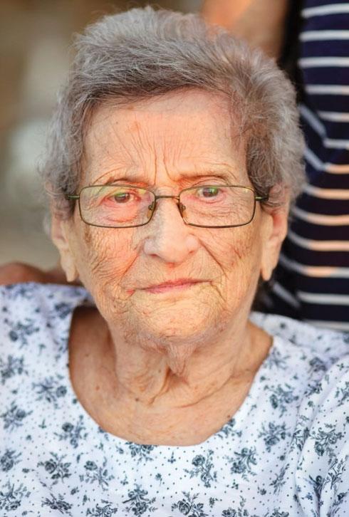 """ז'וזה, סבתהּ של לי. """"סירבה לדרוך על אדמת הונגריה""""   (צילום: אלבום פרטי)"""