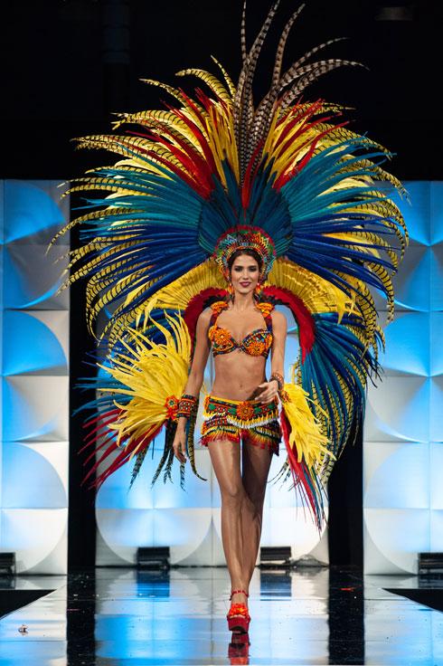מיס קולומביה  (צילום: Patrick Prather, Miss Universe)