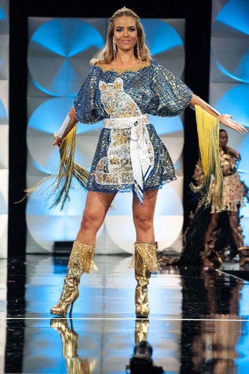 מיס שוודיה  (צילום: Patrick Prather, Miss Universe)