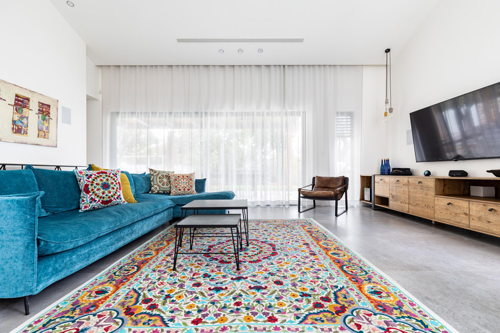 חשוב לבדוק היכן ייפרש השטיח ומה הייעוד שלו  (צילום: אורית ארנון ל-Carpetism)