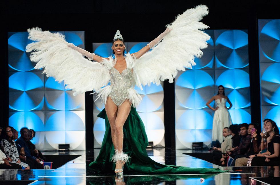 מלאכית. מיס אירלנד  (צילום: Patrick Prather, Miss Universe)