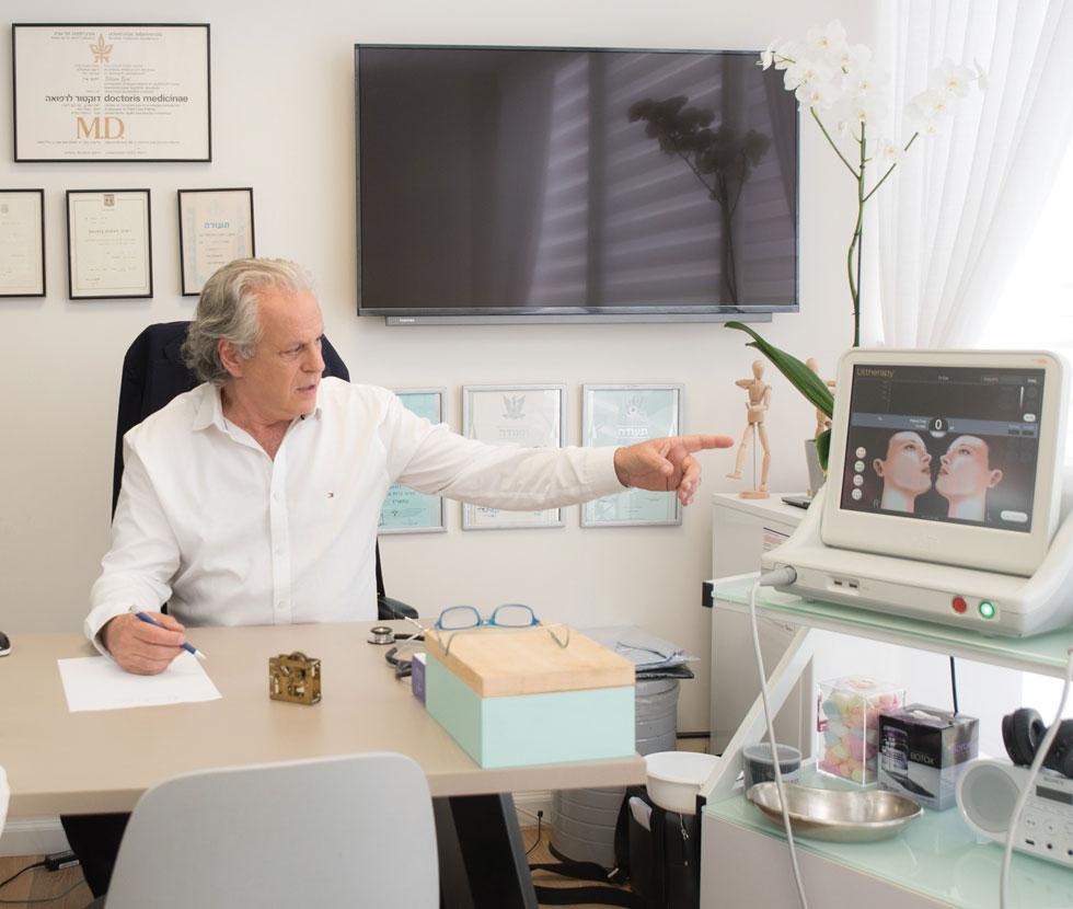 """הרחיק עד ברצלונה כדי להשתלם ולהכיר לעומק את התכונות, היתרונות והייחודיות של האלנסה. ד""""ר איל (צילום: ד""""ר עמי אייל)"""