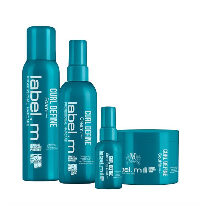 סדרת הטיפוח של label.m לשיער מתולתל מכל סוג