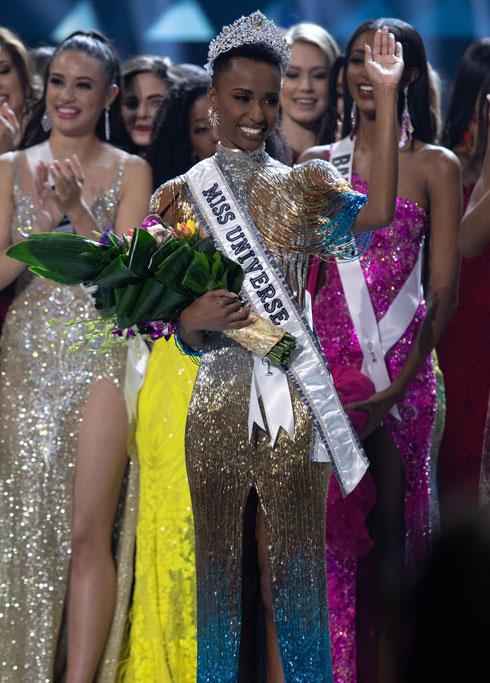 פעילה חברתית. טונזי  (צילום: Alex Mertz, Miss Universe)