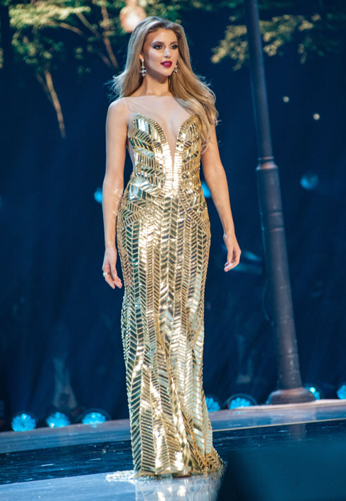 מדיסון אנדרסון, מיס פורטו ריקו - הסגנית הראשונה  (צילום: Patrick Prather, Miss Universe)