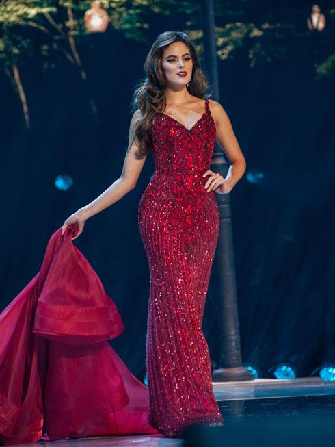 סופיה ארגון, מיס מקסיקו - סגנית שנייה  (צילום: Patrick Prather, Miss Universe)