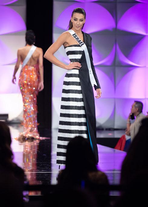מלכת היופי סלע שרלין בשלב המוקדמות  (צילום: Tom Griscom, Miss Universe)
