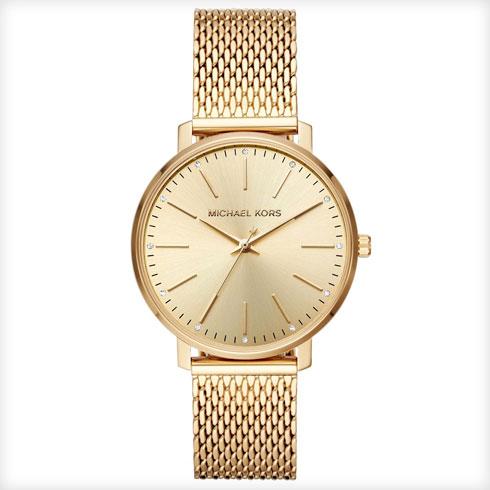 ג'נטלמן. בתמונה: שעון של מייקל קורס ב-699 שקל במקום 899 שקל