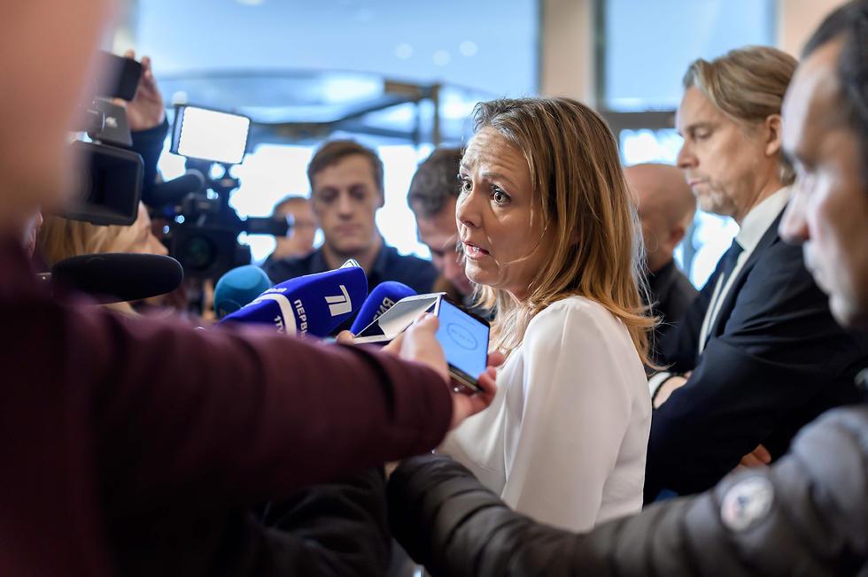 לינדה הופטסאד מהסוכנות הבינלאומית למלחמה בסמים (צילום: AFP)