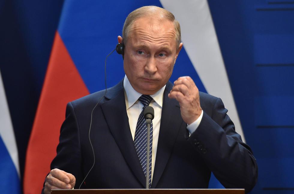 ולדימיר פוטין (צילום: AFP)