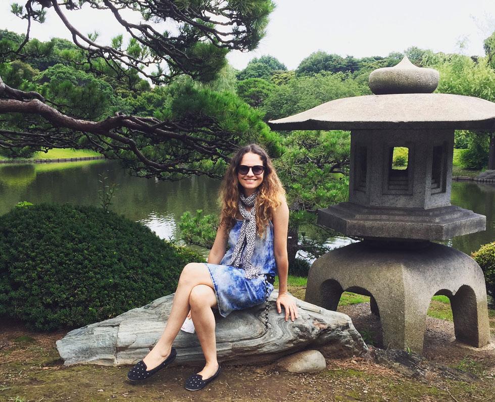 """""""היו תקופות שבהן הגעגוע לישראל ממש הכאיב פיזית"""". ליאת ביפן (צילום: אלבום פרטי)"""