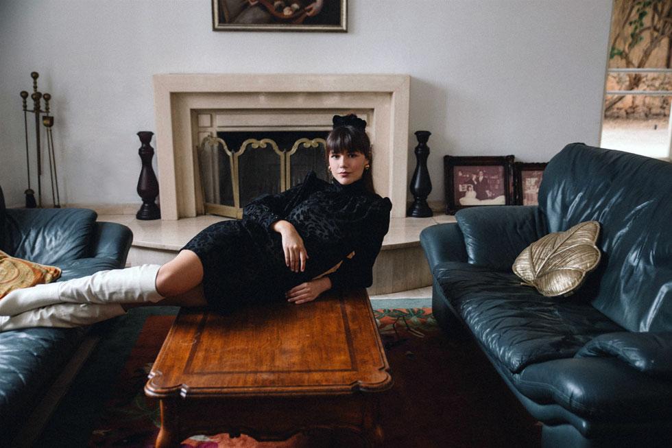 רוחמה. מעצבת האופנה מגיעה לתל אביב מבאר שבע להשקת קולקציית החורף החדשה (צילום: רותם לבל)