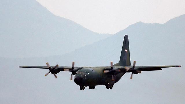 מטוס  (צילום: EPA)