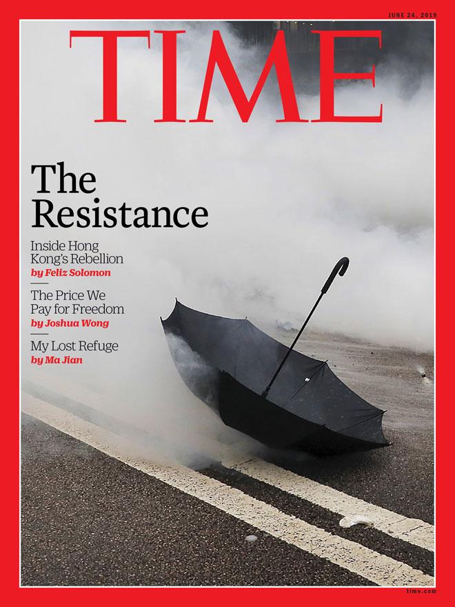 תיעוד המחאה בהונג קונג
