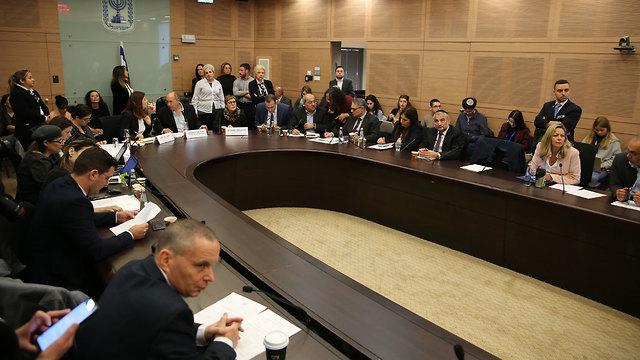 הוועדה המסדרת כנסת (צילום: אלכס קולומויסקי)
