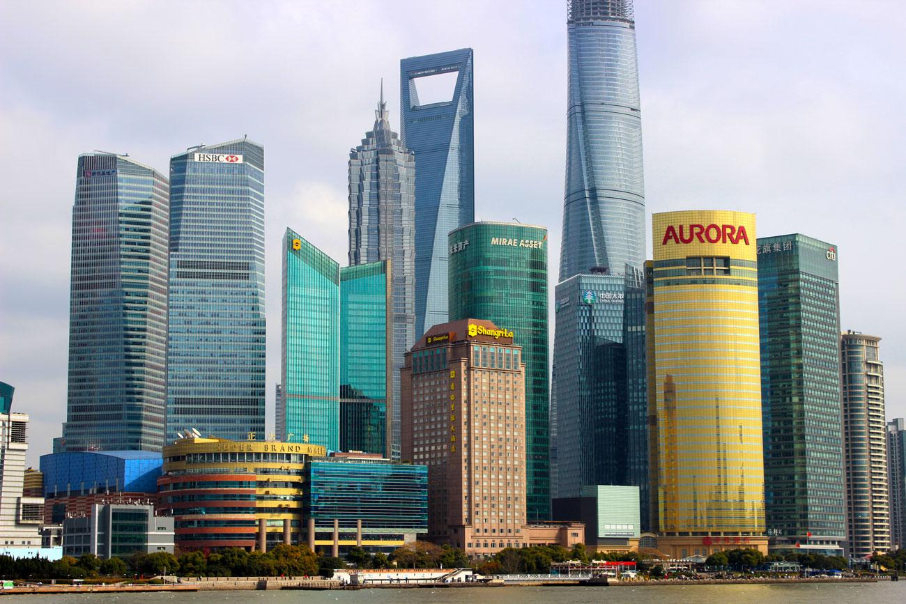 פרויקט העשור סין שנגחאי גורדי שחקים (צילום: shutterstock)