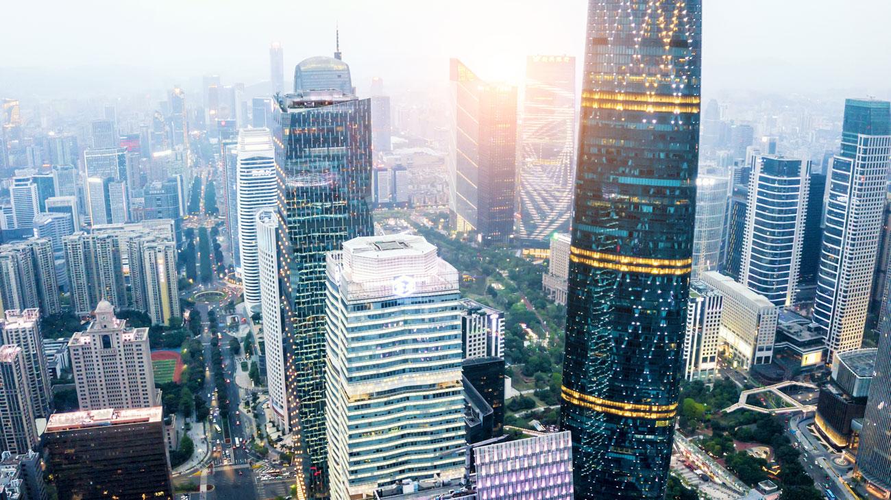 פרויקט העשור סין גוואנגג'ו גורדי שחקים (צילום: shutterstock)