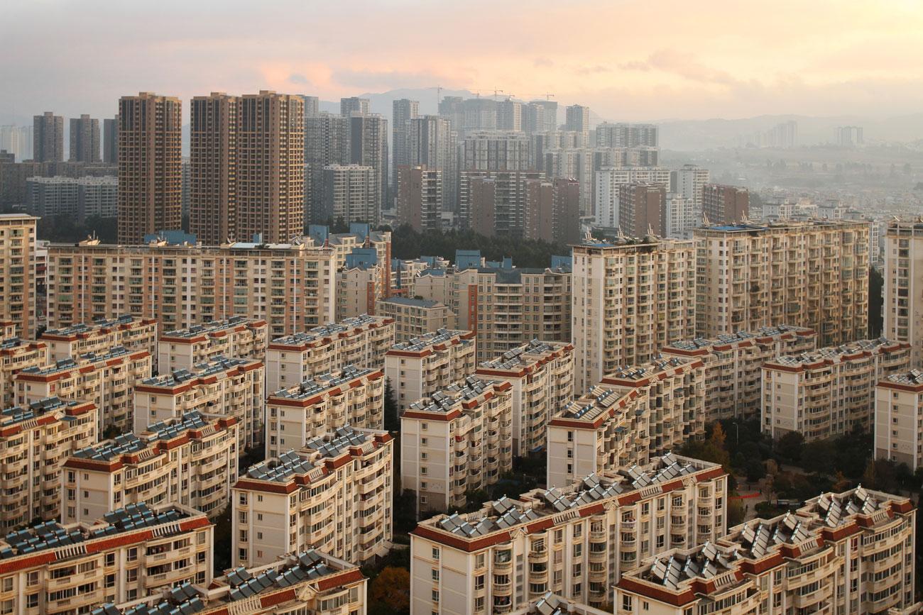 פרויקט העשור עיר רפאים סין (צילום: shutterstock)