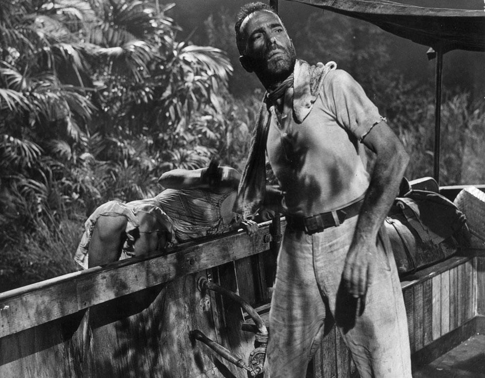 """צמח לתוך הדרישה ההוליוודית לדמויות פחות הדורות ויותר אלימות. """"המלכה האפריקאית"""", 1951 (צילום: Arthur E. Lemon/GettyimagesIL)"""