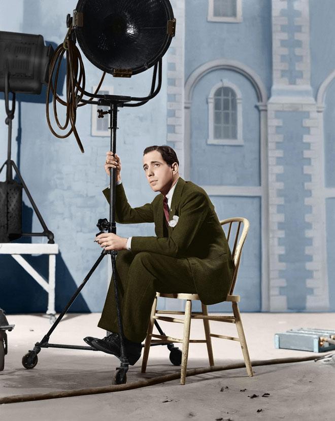 בוגרט בתחילת הקריירה הקולנועית, 1937 (צילום: rex/asap creative)