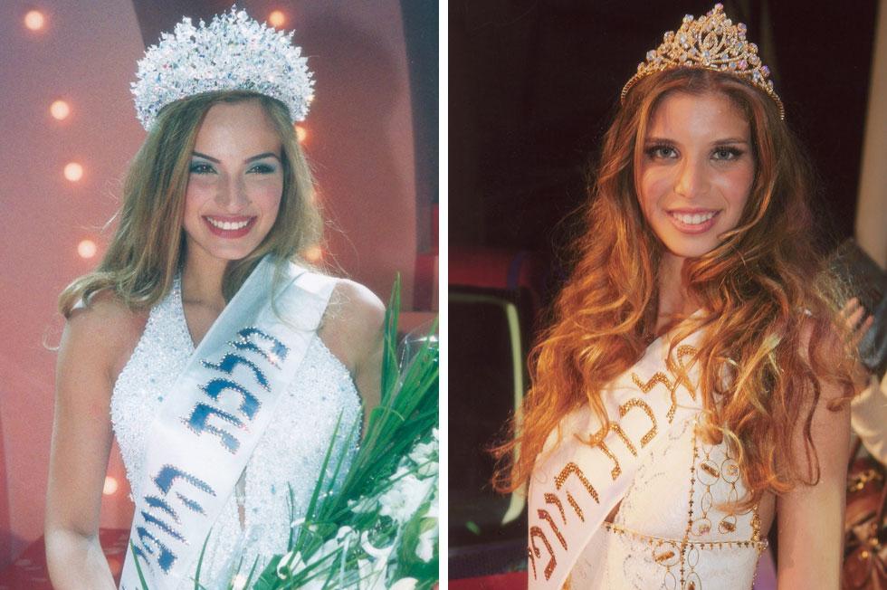 מי המליץ עליהן לתחרות? מימין: לירן כוהנר שנבחרה למלכת היופי ב-2007, אילנית לוי  - מלכת היופי לשנת 2001  (צילום: ששון משה)
