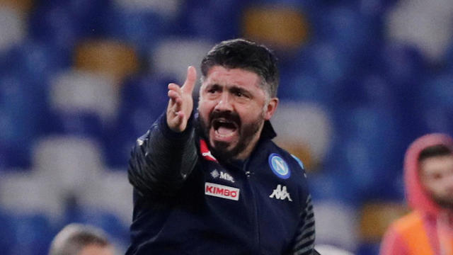גאטוזו כועס  (צילום: רויטרס)