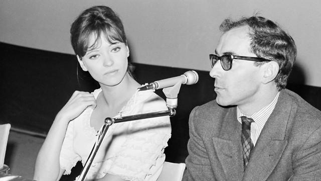 ז'אן לוק גודאר ואנה קארינה (צילום: AP)