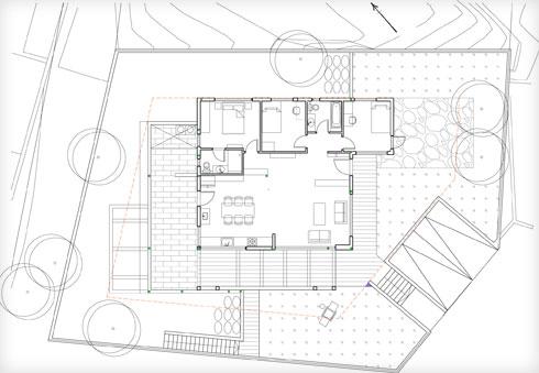 תוכנית הבית, על קומה אחת (תוכנית: ליאת בעבור)