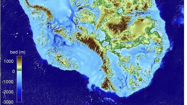 יבשת אנטרקטיקה. הנקודה הנמוכה בדרום מזרח היבשת (צילום: MATHIEU MORLIGHEM / UCI)