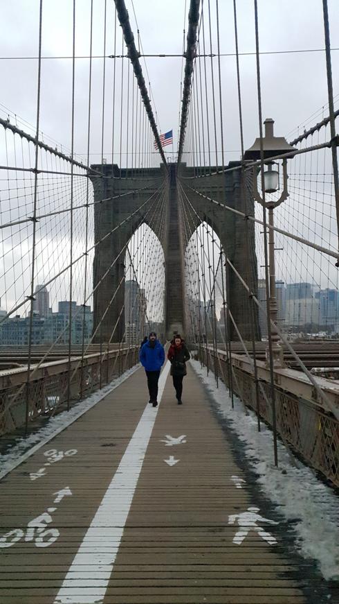 אחד היפים בעולם. גשר ברוקלין  (צילום: צביקה בורג)