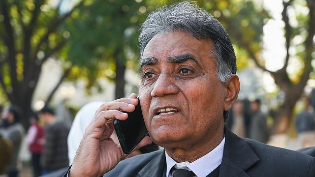אחתאר שאה עורך דינו של נשיא פקיסטן לשעבר פרווז מושרף (צילום: EPA)